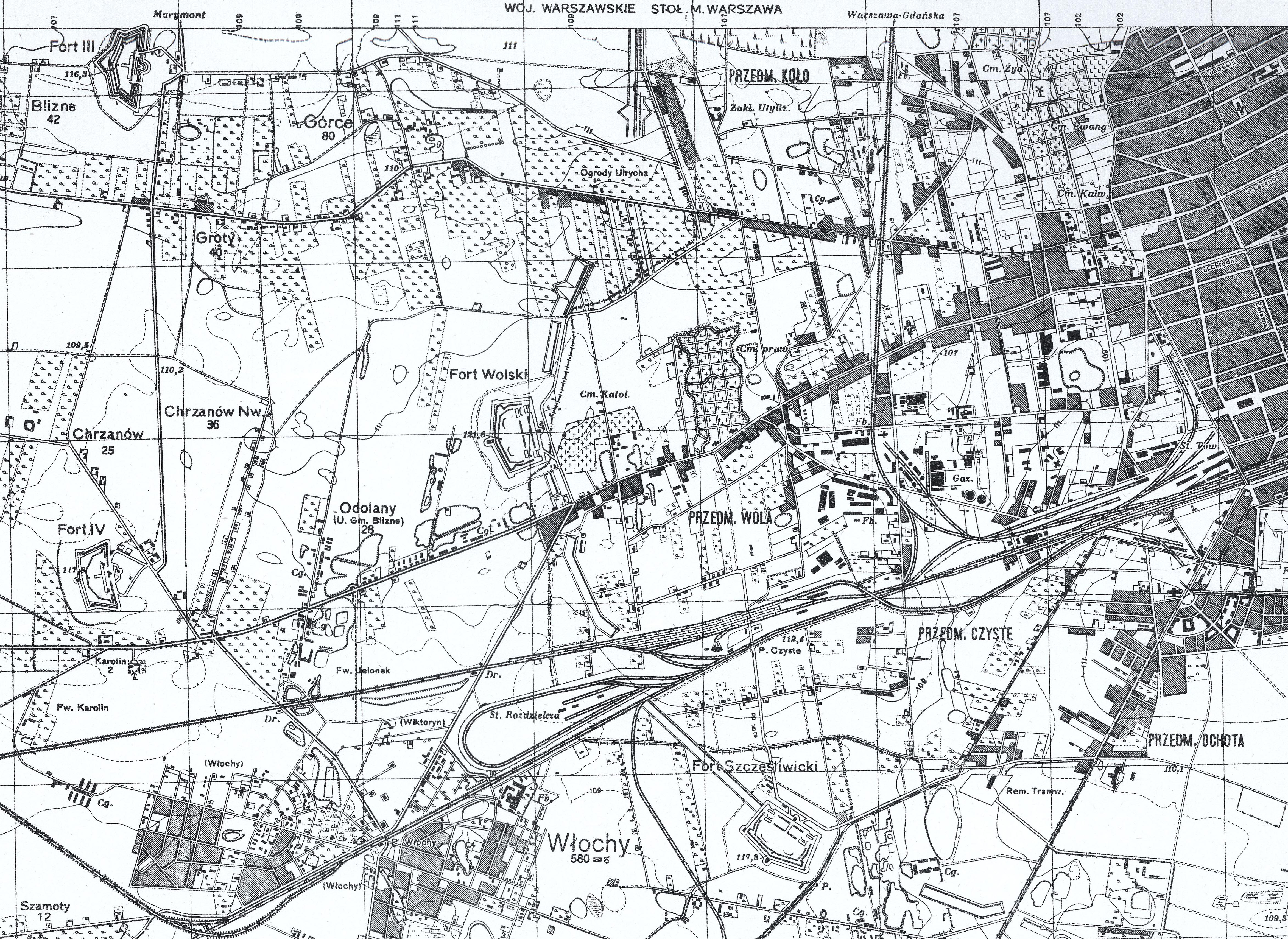 Górce, Czyste 1889
